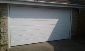 Insulated Sectional Door By ABi