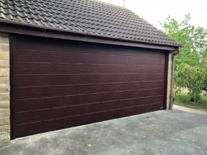 M-Ribbed Insulated Sectional Door By ABi