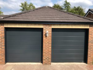 Hörmann M-Ribbed Design Insulated Sectional Door By ABi