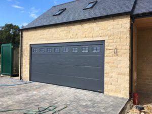 Hörmann L-Ribbed Design Insulated Sectional Door By ABi