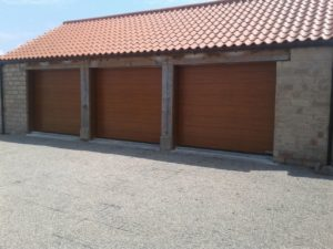 Hörmann Made-To-Measure M-Ribbed Design Sectional Door By ABi