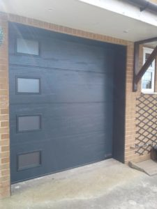 Hörmann L-Ribbed Design Sectional Door By ABi