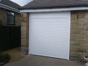 Hörmann Roller Garage Door in White