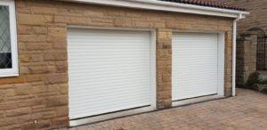Roller Garage Doors in White