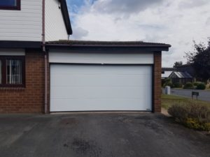 Hörmann Insulated L-Ribbed Design Sectional Garage Door By ABi