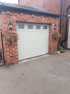 Sectional Garage Door Installed by ABi