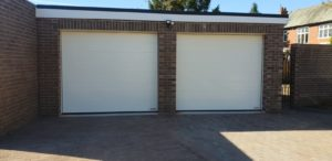 Hörmann Sectional Garage Doors in White