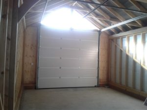Inside of a Hörmann Sectional Garage Door