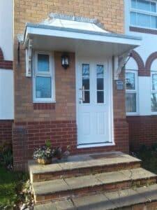 Hormann Front Door in White
