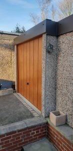 Up & Over Decograin Timber Effect Garage Door