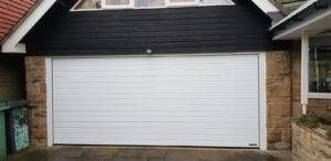 Hörmann Sectional Garage Door in White