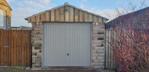 Up & Over Garage Door Installed by ABi
