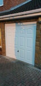 Up & Over Garage Door in White