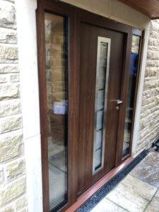 Hörmann Steel Front Door in Brown