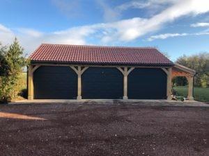Hörmann Sectional Garage Doors in Black