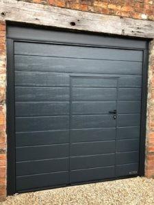 Wicket Door in Black