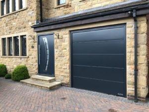 Hörmann Sectional Garage Door in Black