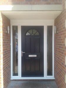 Hörmann Composite Entrance Door in Black