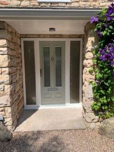 Composite Entrance Door in Green
