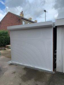 Roller Garage Door in White