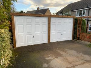 Up & Over Garage Doors in White
