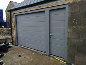 Hörmann Sectional Garage Door With A Garage Side Door