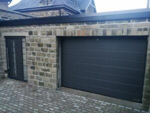 Hörmann Steel Entrance Door & Sectional Garage Door
