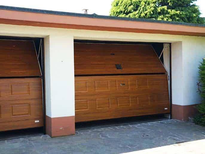 Overlap Garage Doors Leeds
