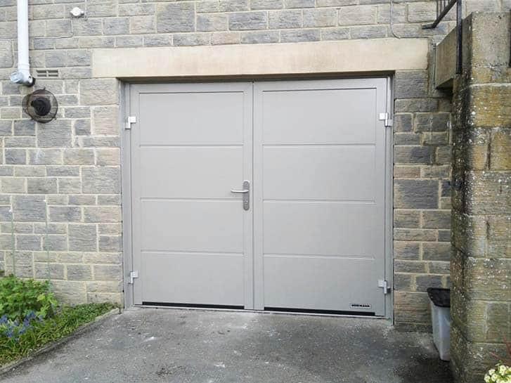 Side Hinged Garage Doors Leeds