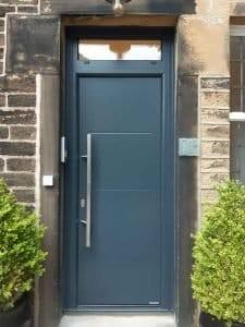 Hormann Front Door in Anthracite Grey