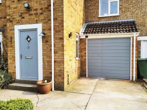Matching Front and Garage Door