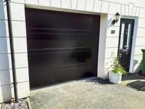 Hormann Sectional Garage Door D Ribbed