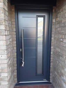 Hormann Steel Front Door