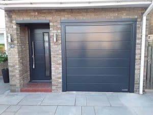 Hormann Matching Front Door and Garage Door