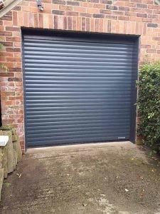 Roller Garage Door in Anthracite Grey