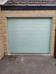 Roller Door in Chartwell Green