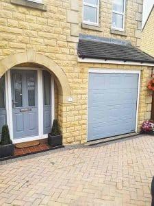Matching Front Door and Garage Door