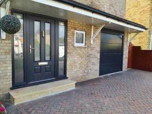Composite Endurance with Matching Garage Door