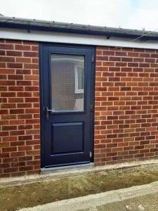 Composite Garage Side Door