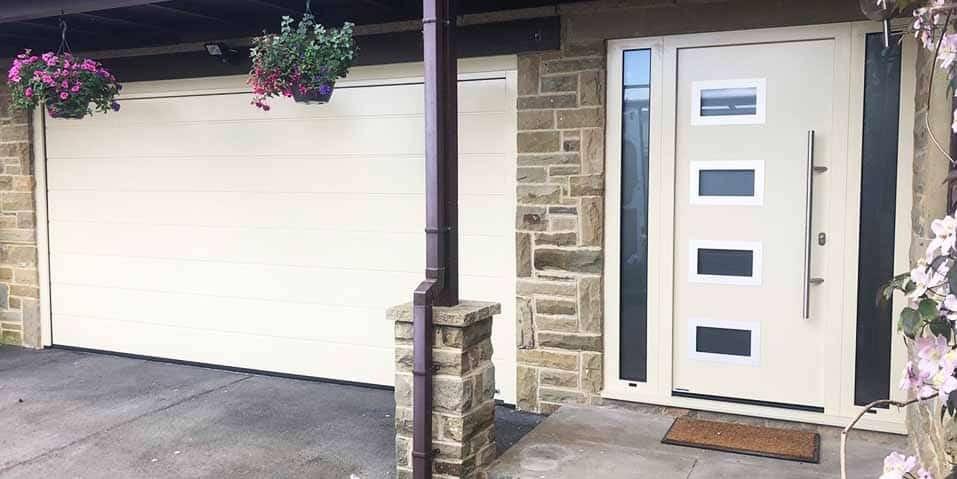 Matching Front Doors and Garage Doors